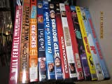 Will Ferrell Dvd Lot Semi Pro, SNL, Step Brothers, Elf, Blades of Glory, Bewitched