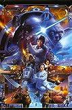 Star Wars - Saga Collage Poster 22 x 34in