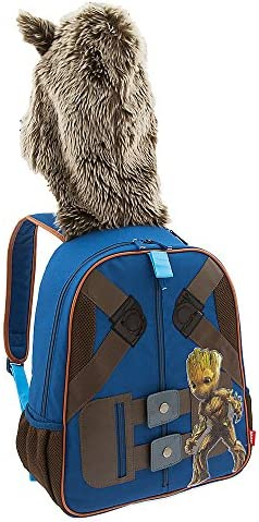 Marvel Rocket Raccoon Hooded Backpack for Kids - Guardians of the Galaxy Vol. 2