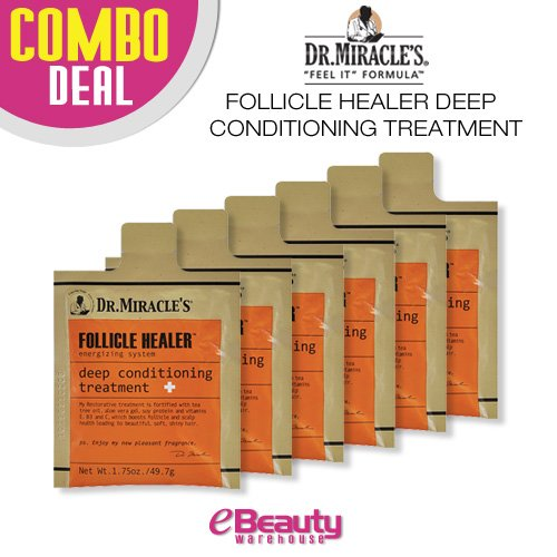 6 Combo Deal! Dr. Miracle's Follicle Healer Deep Conditioning (Hair Healer)