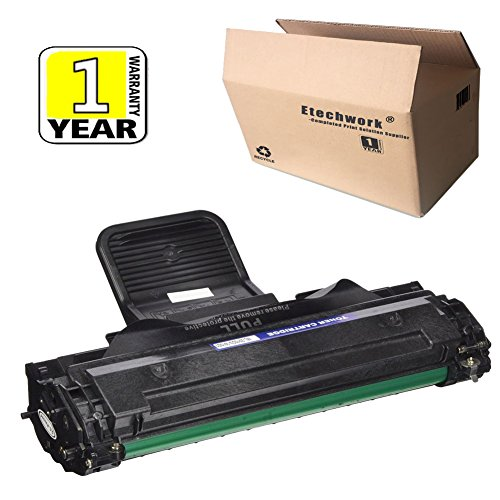Etechwork 1 Pack Replacement for Samsung ML-2010D3 ML2010 Toner Cartridge Black Color use in Samsung ML-2010 ML-2510 ML-2570 ML-2010P ML-2010PR ML-2010R ML-2015 ML-2571N SCX-4321 Printer, Brand