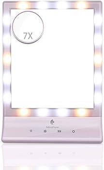 MiroPure Lighted Makeup Mirror