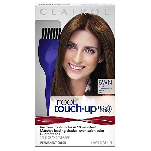 Clairol Nice 'n Easy Root Touch-Up, 6WN Light Chocolate B...