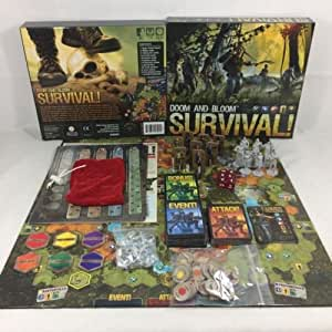 Doom and Bloom SURVIVAL! Board Game