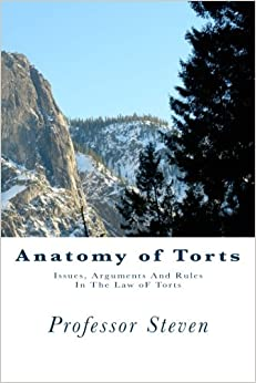 Anatomy of Torts: Issues, Arguments And Rules In The Law oF Torts