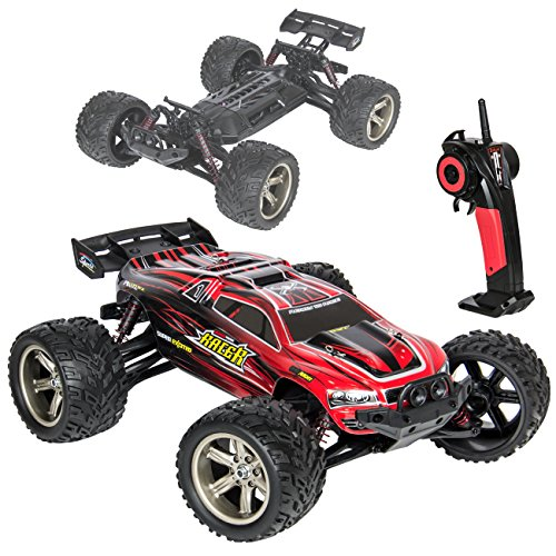 Best Choice Products 1:12 Scale 2.4GHz Remote Control Truck Electric RC Car Monster Off Road (Rc Game Truck)