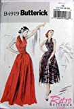 Butterick Sewing Pattern B4919 Retro '52 Vintage Style Dress Misses Sizes 14-16-18-20