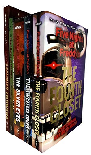 Five nights at freddys series scott cawthon 5 books collection set