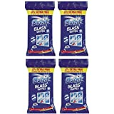 4 x Duzzit Glass Window Mirror Cleaning Wipes by Duzzit