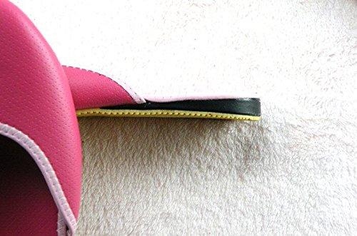 TELLW Hombres Mujeres Primavera Verano Otoño parejas De Piel De Vaca Zapatillas De CASA Zapatillas De Cuero Zapatillas De Piso De Madera