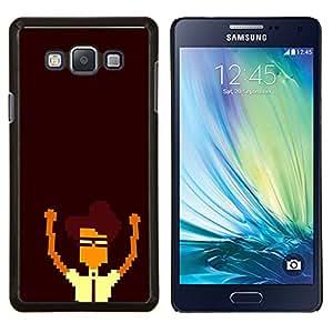 Stuss Case / Funda Carcasa protectora - Nerd Pixel - Samsung Galaxy A7 A7000