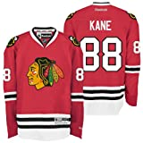 NHL Men's Chicago Blackhawks #88 Patrick Kane Reebok Edge Premier Player Jersey (Red, Large)