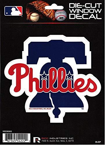 Rico Industries Philadelphia Phillies Die Cut Vinyl Decal