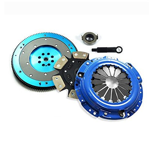EFT STAGE 3 CLUTCH KIT+ALUMINUM FLYWHEEL ACURA CL HONDA ACCORD PRELUDE 2.2L 2.3L -