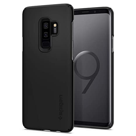 91d02dd3177669 Spigen Coque Galaxy S9 Plus,  Thin Fit  PC Rigide, Fine, Légère ...
