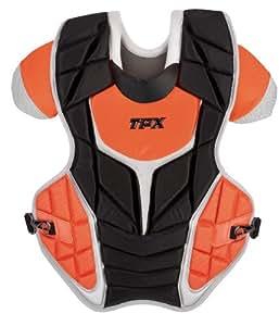 Louisville Slugger TPX Pulse Custom Color Catcher's Gear Set, 3-Piece, Black/Orange