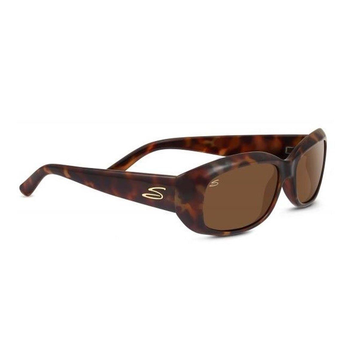 Serengeti Bianca Sonnenbrille Unisex Erwachsene, Braun