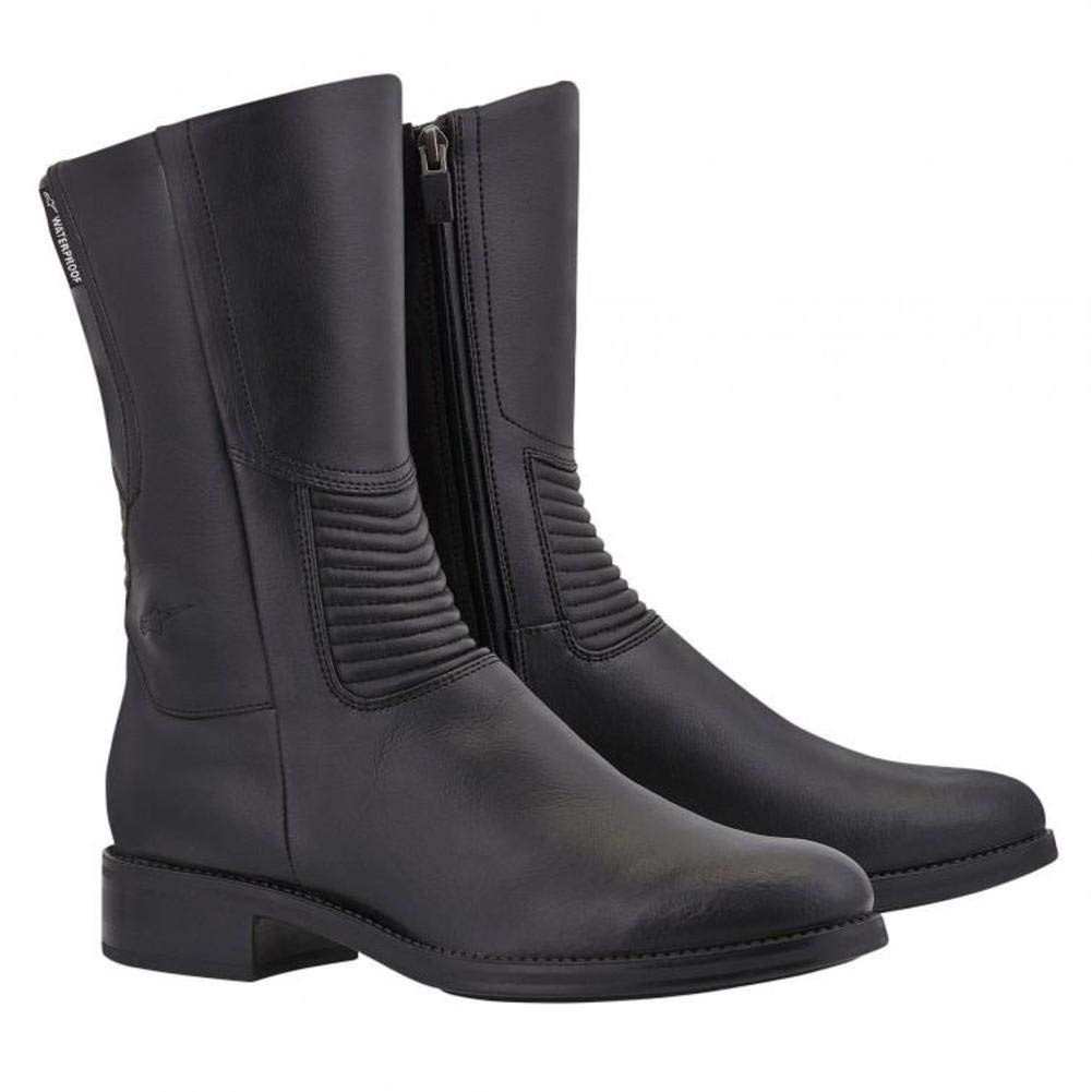 Size: 7 Primary Color: Black Gender: Womens 2445513-10-38 Alpinestars Vika Waterproof Womens Boots Distinct Name: Black