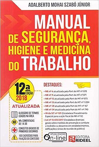 E medicina pdf trabalho seguranca livro do