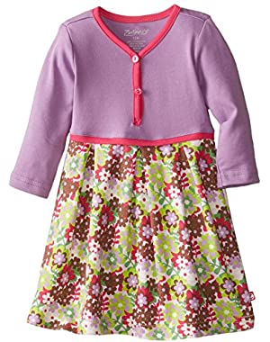Baby Girls' Stripe Pretty Pleats Dress