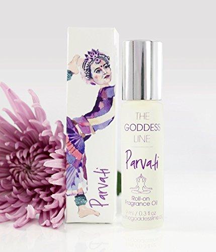 Parvati Roll On Fragrance - The Goddess Line by Dpnamron