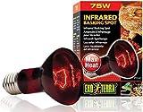 Exo Terra HeatGlo Infrared Spot Lamp (75 W)
