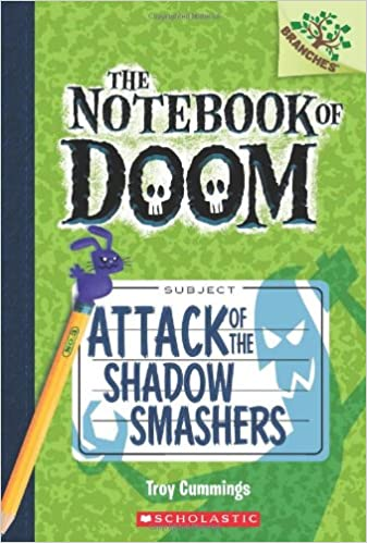 com attack of the shadow smashers a branches book the com attack of the shadow smashers a branches book the notebook of doom 3 9780545552974 troy cummings books