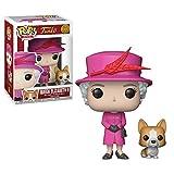 Funko POP!: Royal Family - Queen Elizabeth II Collectible Figure,Pink