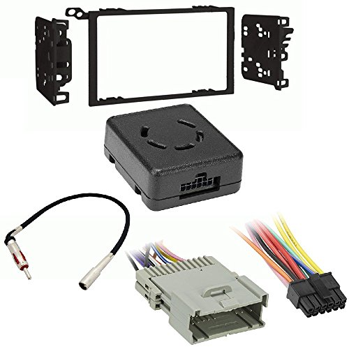 - Metra 95-2009 Double DIN Installation Multi-Kit for 95-08 GM Axxess Metra LC-GMRC-01 GM LAN Data Bus Interface with Chime Retention