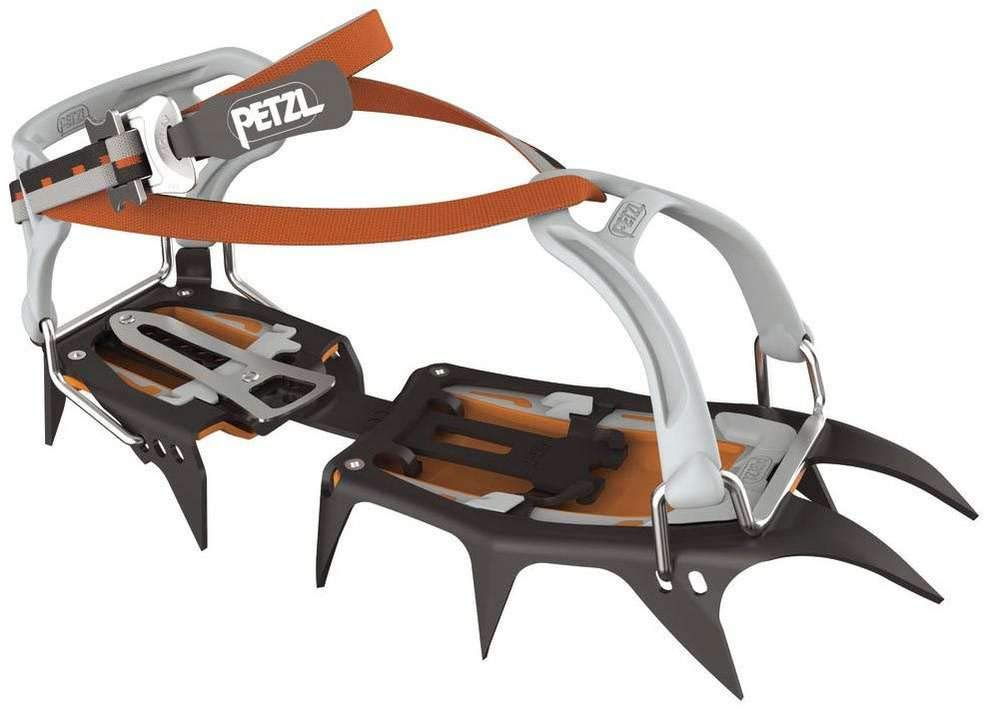 PETZL - VASAK, Crampons for Classic Mountaineering, Flexlock by PETZL