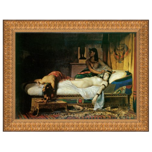 Design Toscano The Death of Cleopatra, 1874: Canvas Replica Painting: Medium by Design Toscano