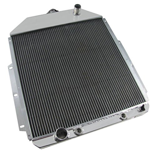 CoolingCare 3 Row Aluminum Radiator for 1942-1952 Ford F Series F1 F2 F3 F4 Pickup Truck (Ford V8 Engine)