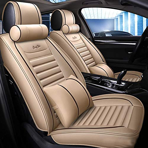 full set black Car seat covers fit Suzuki Ignis grey