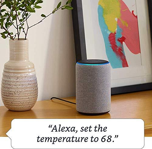 Echo Plus (2nd Generation) with Amazon Smart Plug - Heather Gray
