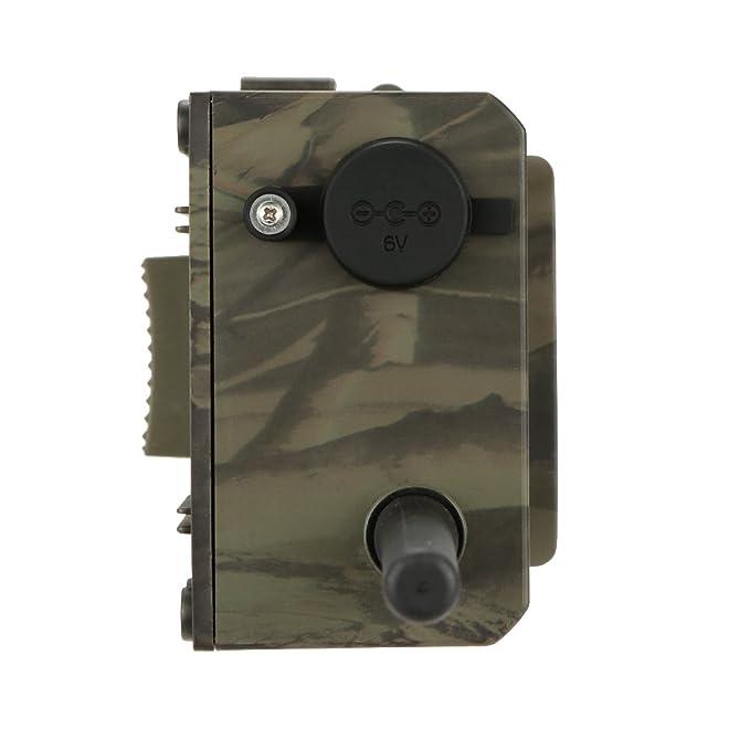 Docooler Cámara de Caza Trail Exploración Vigilancia Caza Infrarrojo Digital GPRS / MMS / SMS 940NM HC300M IR LED: Amazon.es: Deportes y aire libre