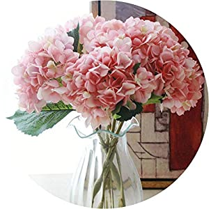 be-my-guest Artificial Hydrangea Flower Silk Cloth Plastic Wedding Supplies DIY Home Decoration for Birthday Party Festival 38
