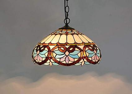 Lampadari E Plafoniere Tiffany : Dobany lampadario stile tiffany euro creativo colorato vetro