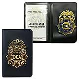 DEA JR SPECIAL AGENT SHIELD AND CREDENTIAL CASE U.S.Drug Enforcement Administration