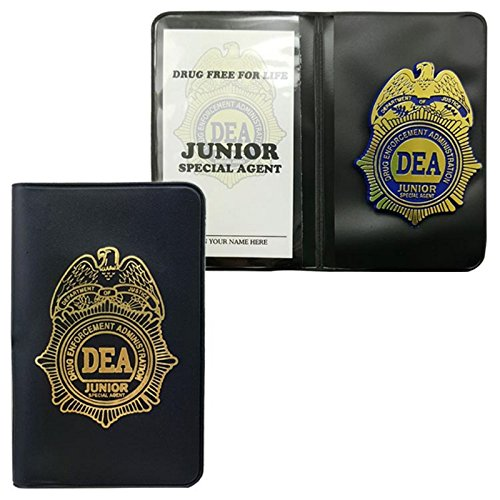 Dea JR Special Agent Badge and Credential Case