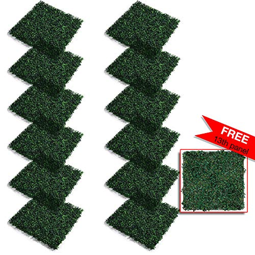 Marjan Green Artificial Boxwood Panels 36 Sq Ft. 20