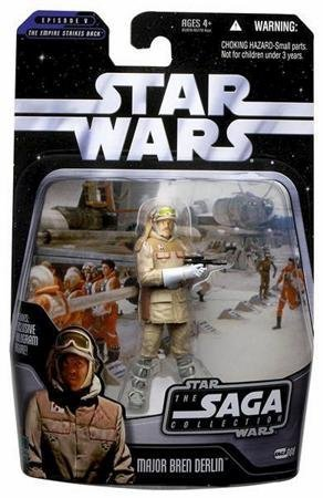 STAR WARSE5 TESB SAGA Major Bren Derlin # - Lukes St Shopping