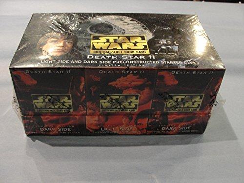 Star Wars CCG Death Star II Starter Display Box12 factory sealed decks