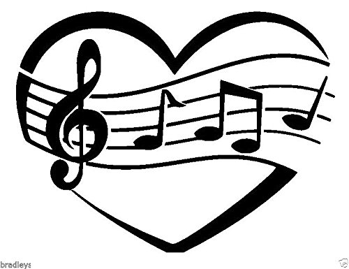 LOVE MUSIC NOTE HEART Wax Seal Stamp