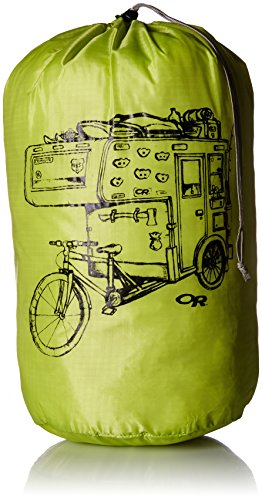 Outdoor Research Graphic Stuff Sack 35L Dirt Bag Sack, Lemongrass, 1size
