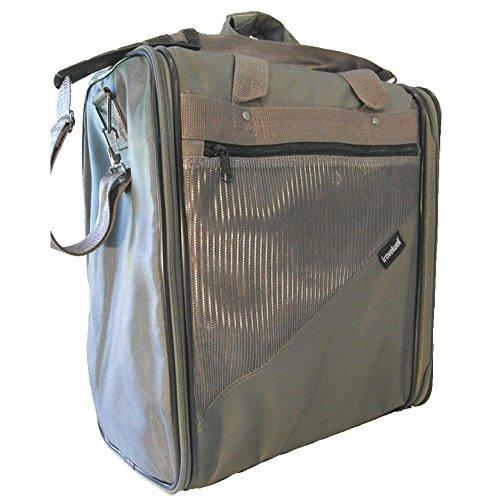 GOODHOPE Expandable Locker Gym Duffel Bag, Grey