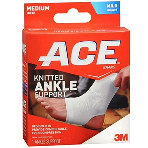 Ace Ankle Brace - Ace Med Ankle Brace Size 1ct Ace Med Ankle Brace