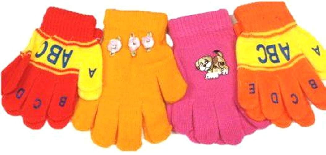 Baby Gloves & Mittens Set of Two Pairs Magic Mittens for Infants Ages 3-12 Months