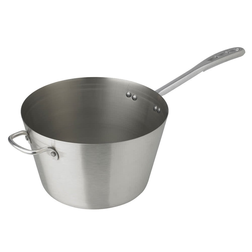 Tabletop King 78371 7 Qt。頑丈なステンレススチールSauce Pan – Tapered Sides B077CL1FVX