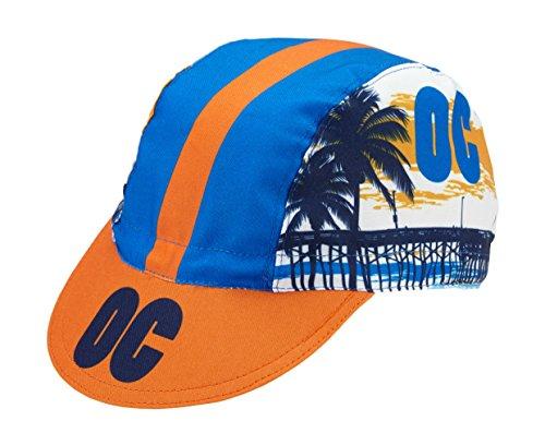 World Jerseys Men's Cycling Cap Orange County Multicolored ()