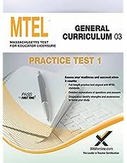MTEL General Curriculum 03 Practice Test 1